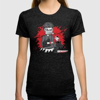 The Duck Passenger Womens Fitted Tee Tri-Black SMALL