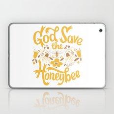 God Save the Honeybee Laptop & iPad Skin