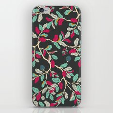 Minty Pinky Branches iPhone & iPod Skin