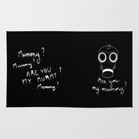 Doctor Who - Are you my mummy ? Rug