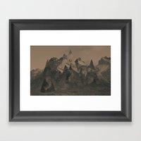 Isosceles  Framed Art Print