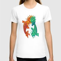 T-shirt featuring Koi Fish Lotus by Rishi Parikh