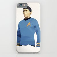 Polygon Heroes - Spock iPhone 6 Slim Case