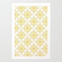 Love Triangle 4 Art Print