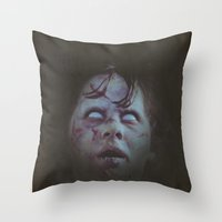 Exorcist Throw Pillow