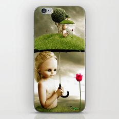 Eve's Umbrella iPhone & iPod Skin