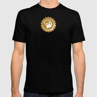 Beers of War Mens Fitted Tee Black SMALL