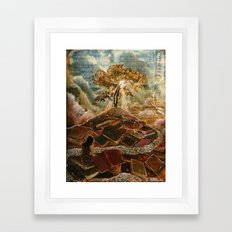 Living Word Framed Art Print