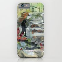 Birds on a Beach with Lovers, Eggs, and Flowers iPhone 6 Slim Case