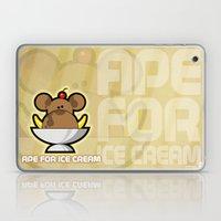 Ape for Ice Cream Laptop & iPad Skin