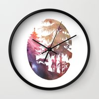 Implore Wall Clock
