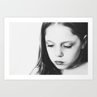 eyelashes Art Print
