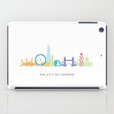 London Skyline White iPad Case