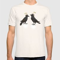 Ravens Mens Fitted Tee Natural SMALL