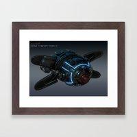 Drone Concept Study 02 Framed Art Print