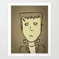 Frankie Art Print
