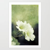 Pretty In Green. Art Print