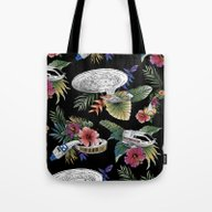 Tote Bag featuring The Next Germination by Josh Ln