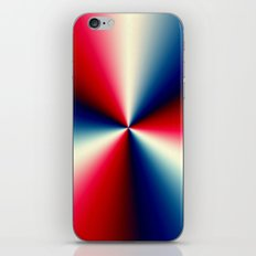 Red, White & Blue iPhone & iPod Skin