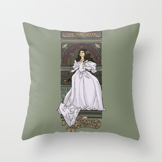 Theatre de la Labyrinth Throw Pillow