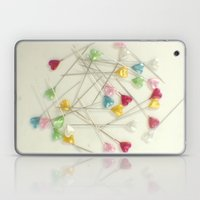 I Heart Pins Laptop & iPad Skin