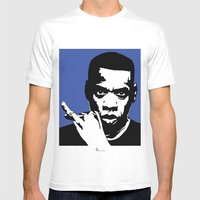 Jay Z Mens Fitted Tee White SMALL