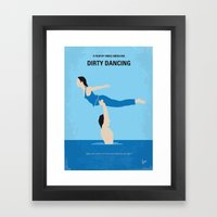 No298 My Dirty Dancing minimal movie poster Framed Art Print