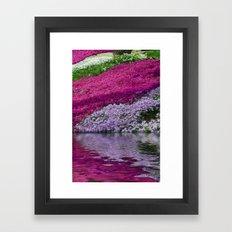 A Colorful River Framed Art Print