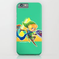 Link - The Hero Of Light iPhone 6 Slim Case