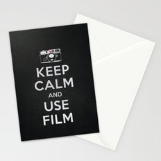 Keep Calm And Use Film Stationery Cards