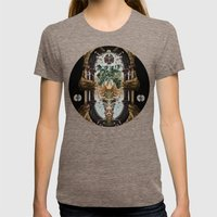 The Gate Womens Fitted Tee Tri-Coffee SMALL