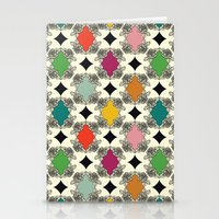 Moroccan Rose Motif Stationery Cards