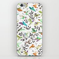 Hummingbirds of North America Field Guide  iPhone & iPod Skin