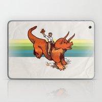 Dinosaur Cowboy Rodeo! Laptop & iPad Skin