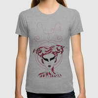 Aries / 12 Signs Of The … Womens Fitted Tee Athletic Grey SMALL