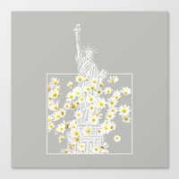 Give Me Liberty Or Give … Canvas Print