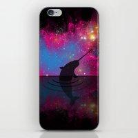 Night Night Narwhal iPhone & iPod Skin