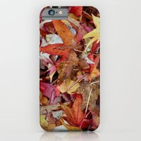 Scattered Maples iPhone 6 Slim Case
