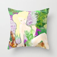DO YOU BELIEVE IN FAYRIE… Throw Pillow