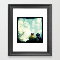 Two For Joy Framed Art Print