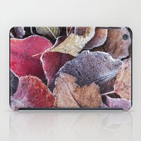 Frosty Ground Cover iPad Case