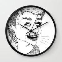 DOE EYES Wall Clock
