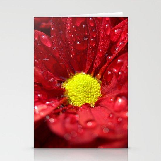 wet bloom I Stationery Card