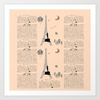 French Lessons Art Print