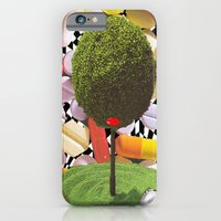 iPhone & iPod Case featuring treeism by Ashley James