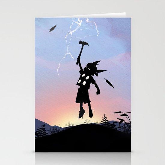 Thor Kid Stationery Card