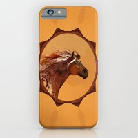 iPhone & iPod Case featuring HORSE - An Appaloosa called Ginger by Valerie Anne Kelly