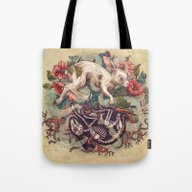 Dust Bunny Tote Bag