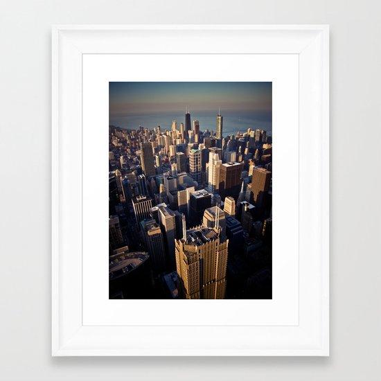 Skydeck V Framed Art Print