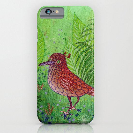 Red Bird iPhone & iPod Case